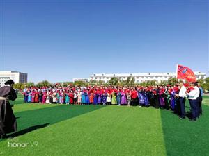 正蓝旗财政局与包联社区共同开展