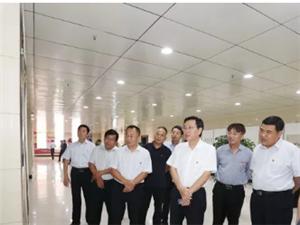 市人大常委会副主任、县委书记姬脉常参观庆祝新中国暨人民政协成立70周年