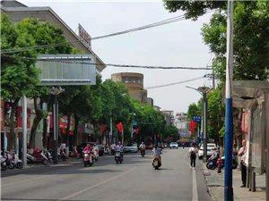 望江大街小巷红旗飘飘迎国庆:祝愿我们的祖国越来越好!