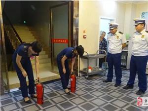 除患保平安 乐安县消防救援大队开展安全夜查行动