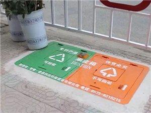 阜南城�^地埋式垃圾桶�砹耍》�e�O置在�@��l路段