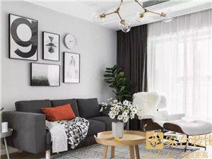 家合装饰,125�O舒适北欧,打造有情调的小资生活