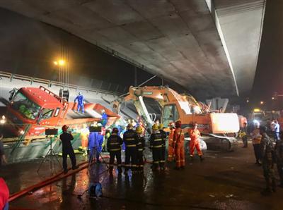 最新通报:3死2伤!无锡高架桥侧翻原因初步查明