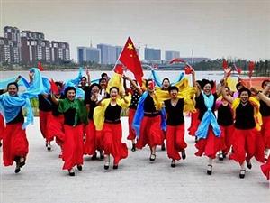澳门金沙网址站县老年大学韵姿美舞蹈队:传播美丽的使者