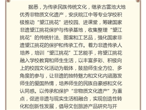 安庆皖江中等专业学校望江挑花指导教师登上中央电视台
