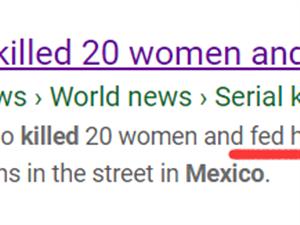 墨西哥夫妇杀害20名妇女,并用她们的心脏喂狗,被判刑327年
