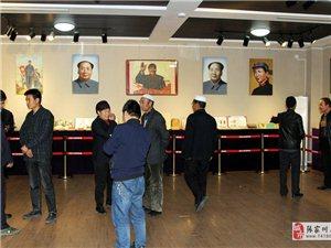 ��家川�h博物�^�t色文化收藏展吸引群����^