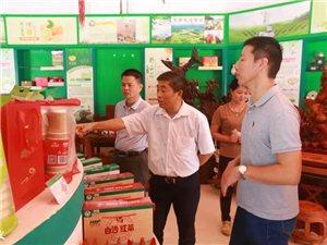 县人大常委会主任王桂厅到电商园调研红心橙品牌建设和网销情况