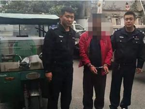 【跑不�】彭山警方成功破�@,���T�蛑卮笳厥绿右莅福。�