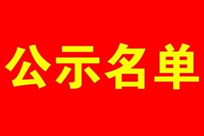 公示:我县非寻乌籍教师认定公示名单(附明细表)