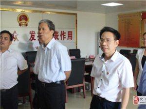 省选联工委到良光镇调研人大代表中心联络站建设工作