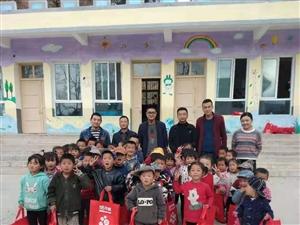 岷县58同镇公益在行动,今天在岷县梅川牙利幼儿园进行