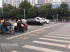 宿州市民安全意�R提高 道路交通秩序改善