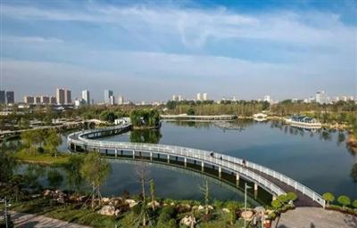 【烟台日报】24.54万平米天然氧吧开放!莱阳蚬河公园二期公益设施建设工程竣工