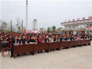 潢川县工商联在李寨村开展扶贫政策宣传和昼访夜谈活动!