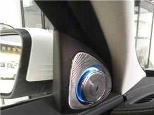 20款奔驰GLC改装无钥匙进入旋转高音头ACC智能限速领航电吸门