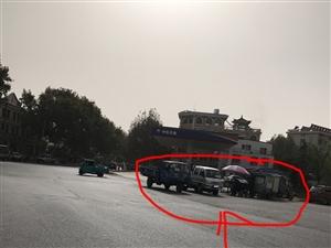 ��烈建�h�χ行尼t院西�D�P路口�`�停��M行管理!