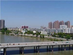 高空俯瞰!潢川�@���潜P可以看到小潢河全景,�目工程�M度曝光!