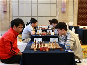 第四�萌���智力�\������H象棋男子�F�w快棋比�在�_化落幕,冠�是...