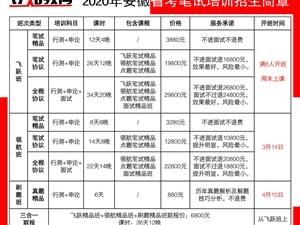 【安徽省省考】笔试培训班招生简章-【立知教育】