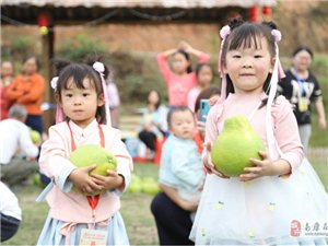 """""""玩嗨美炸""""赤土甜柚采摘旅游节!"""