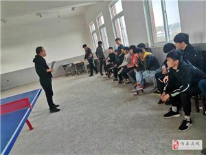 单桥中心学校举办首届乒乓球选拔赛