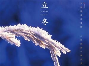 【鑫源・万盛公馆】立冬