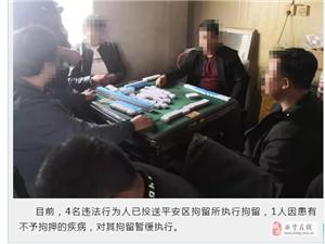 胆大!青海8名男子在门卫值班室打麻将赌博被查获