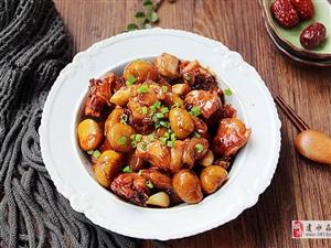 【美食分享】板栗蜜汁鸡:板栗粉糯,鸡肉嫩滑入味,简直太好吃了