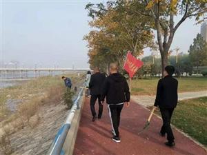 """宜阳水利人在行动―记一次""""河渠清洁""""活动"""