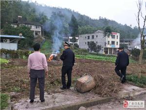 广安区综合行政执法局官盛大队 持续做好露天焚烧管控工作