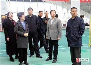 在咸省十三届人大代表来武功县视察调研经济社会发展及重点项目建设等工作