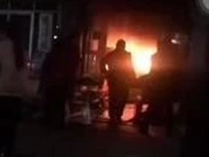 新疆烧烤发生火灾了,太吓人了!