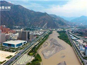 陇南全城航拍图