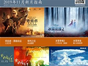 嘉峪关文化数字电影城19年11月27日排片表