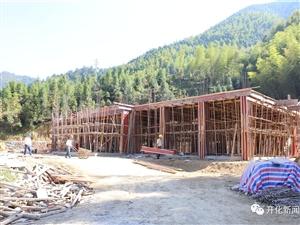�_化上安村�t高粱�C合�w施工如火如荼!建成后每年至少可助力村集�w消薄40