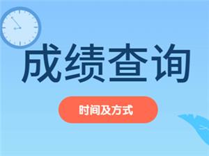 平川人2020国考成绩何时查询时间