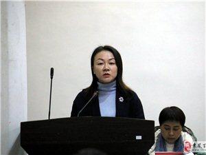 """来凤县向""""两代表一委员""""报告平安稳定工作走进翔凤镇活动"""