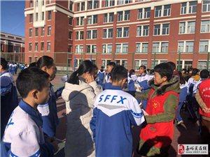 """新华社区开展""""宪法日""""禁毒宣传进校园活动"""