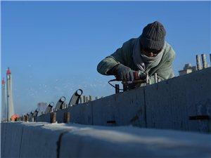中国之最——中国beplay3跨铁路大桥即将竣工了!