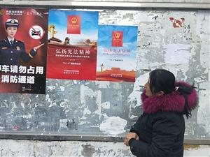 新华社区开展宪法宣传活动