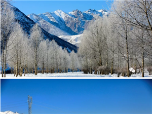 冰清玉��冬�T源,�@才是青海最美的冬天!