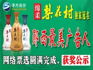 2019梨花村杯郧西最美广告人网络评选结果公告