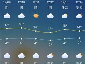 先升10℃再降10℃!金寨接下来的天气太刺激……