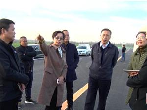 副市长何晞来到周南高速公路澳门威尼斯人娱乐网站段调研指导项目建设推进情况