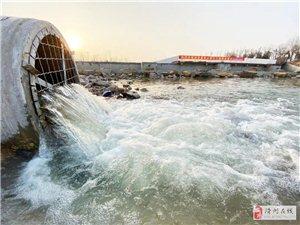 滑县最美的湖注水啦!高空栈道、沙滩、水幕亭…即将开放