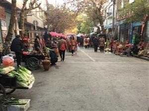 城北菜市场搬地方了