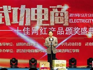 """【头条】陕西武功""""十佳网红产品""""颁奖盛典隆重举行(组图)"""