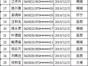曝光|安�c一周酒�{名�危�12.2-12.8)桐城15人!
