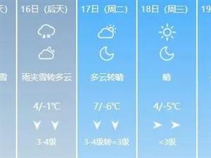雨�A雪+�E降8℃!�S南的雪�R上要到!�有�@些事情你要知道→